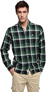 Altonadock Camisa Slim de Cuadros
