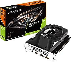 GIGABYTE GeForce GTX 1650 Mini ITX OC 4G Graphics Card, Mini ITX Form Factor, 4GB 128-Bit GDDR5, Gv-N1650IXOC-4GD Video Card