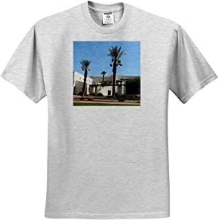 Patriotic Home Town Design T-Shirts American Cities Texas red Blue Text Texas 3dRose Alexis Design Mesquite