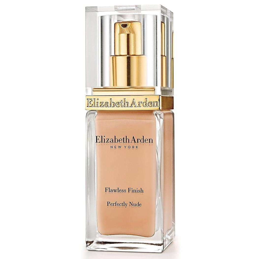 カウント属性地域Elizabeth Arden Flawless Finish Perfectly Nude Foundation SPF 15 Vanilla Shake - エリザベスは、完璧な仕上がり完璧ヌードファンデーション 15バニラシェイクをアーデン [並行輸入品]