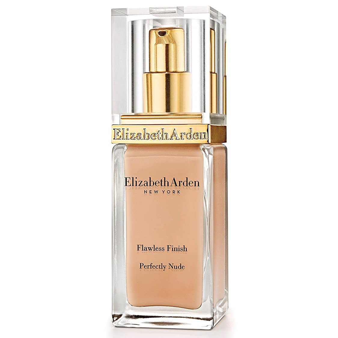 ささいなアリスクロールエリザベスアーデン完璧な仕上がり完璧ヌード基礎 15アンバー x4 - Elizabeth Arden Flawless Finish Perfectly Nude Foundation SPF 15 Amber (Pack of 4) [並行輸入品]
