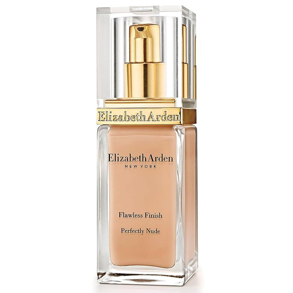 郵便番号無視層Elizabeth Arden Flawless Finish Perfectly Nude Foundation SPF 15 Chestnut (Pack of 6) - エリザベスアーデン完璧な仕上がり完璧ヌード基礎 15栗 x6 [並行輸入品]