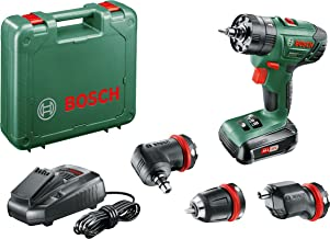 Bosch Home and Garden 06039A3400 Taladro, 27 W, 18 V, Negro, Verde, Rojo, 38.6 x 10 x 34