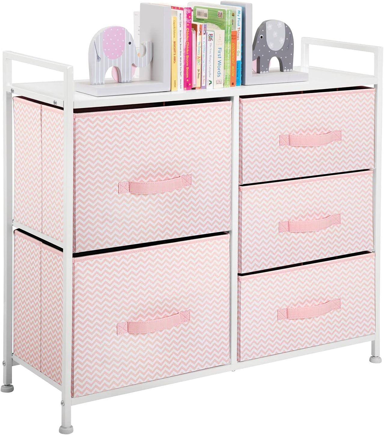 mDesign Max 74% OFF Storage Dresser Excellence Furniture Unit Standing - Organize Large