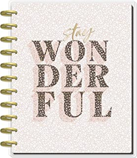 The Happy Planner Big Sized 18 Month Planner - Colorful Leopard Theme - July 2021 - December 2022 - Dashboard Layout - Mon...