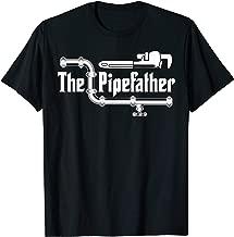 The Pipefather Plumber T-Shirt Plumbing Gift Plumbers TShirt