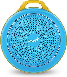Genius Sp-906Bt Speaker for Mobile Phones - Bright Blue
