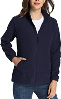 iloveSIA Women's Warm Slim Fit Full Zip Fleece Jacket 6222