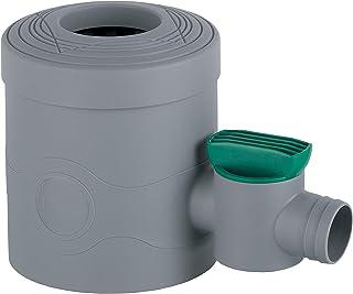 3P Technik Filtersysteme Regensammler mit Absperrhahn grau für Fallrohre Ø 68-100 mm..