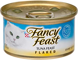 Fancy Feast Flaked Tuna Feast Gourmet Cat Food