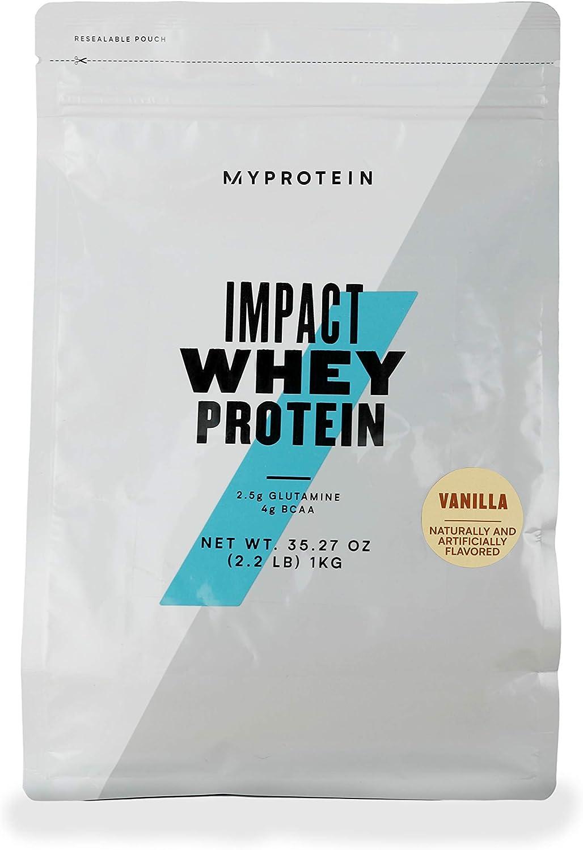 Myprotein® Outstanding Impact Whey Protein Powder 40 Vanilla 2.2 Sale special price Lb Servi