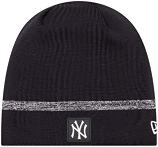 20486f748 New Era MLB New York Yankees Clubhouse Stocking Knit Hat Beanie Skull Cap  Black