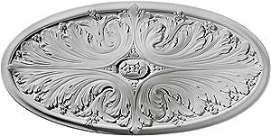 Ekena Millwork CM24X12MA Madrid Ceiling Medallion, 24 3/4