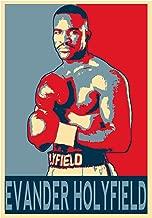 General ART Poster Propaganda - Grandi Pugili - Evander Holyfield - Formato A3 (42x30 cm)