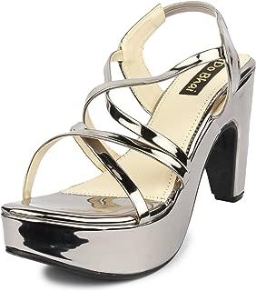 Do Bhai Glass Fashionable & Stylish Heels for Women