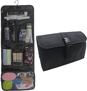 Hanging Toiletry Bag Travel Kit for Men and Women Waterproof Wash Bag Compact Makeup Organizer Bag Shaving Kit for Bathroo...