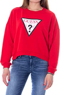Woman Sweatshirt Iconic Fleece w93q73k8k90 xs red