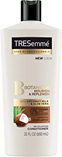 Tresemme Botanique Conditioner, Nourish & Replenish, 22 Fl Oz (Pack of 4)