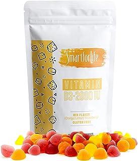 SMART FOR LIFE Vitamin D3 Gummies - High Absorption Vitamin D3 - Great for Immune Support & Bone Strength - Vitamin D Gumm...