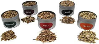 Jax Smok'in Tinder Extra FINE Smoke Gun Wood Chips Variety Pack - Five of Our Popular Premium...