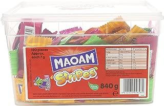 Haribo Maoam Stripes - Fruit Flavour Chew 120 Tub