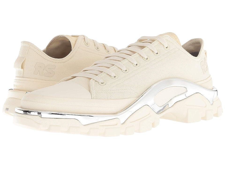 Image of adidas by Raf Simons Raf Simons Detroit Runner (Cream White/Cream White/Cream White) Athletic Shoes