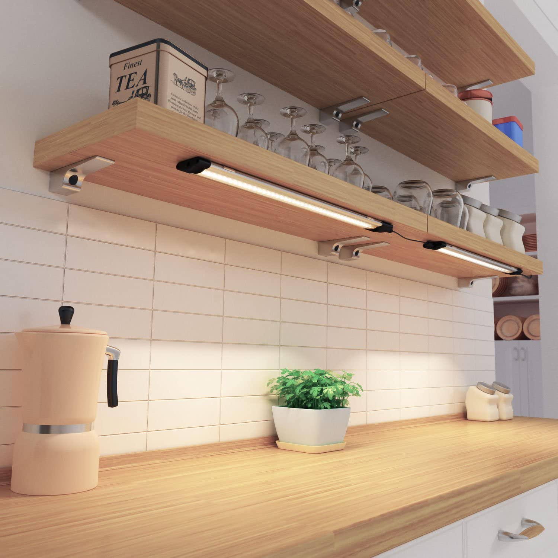 blanche parlat LED luminaire sous meuble SIRIS plat 330lm 30cm