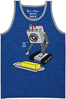 Ripple Junction Rick and Morty Pass The Butter Adult Muscle Tank