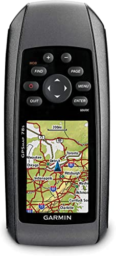 Garmin GPSMAP 78 - Navegador GPS con mapas mundiales Integrados