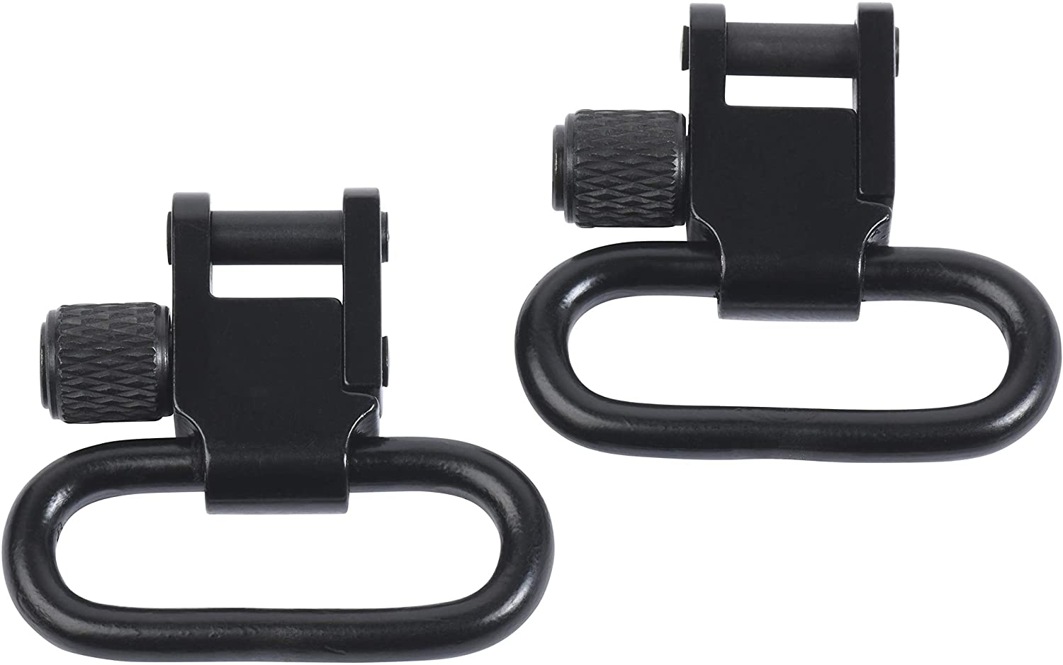 Detroit Mail order cheap Leather Shop Pair of 1 Inch Gun free A Sling Swivels Tri-Lock