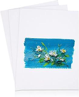 Viesap Toiles, 3PCS Toile Peinture, 40*30cm Toile à Peindre, 100% Coton Panneaux De Peinture Sur Toile, Panneaux De Toile,...