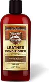 Leather Conditioner Gel Cream - Easy Application - Safe for Dark or Lighter Colors Leather Apparel, Furniture, Auto Interiors, Shoes, Bags and Leather Accessories