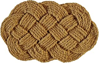 NACH Braided Coir Nautical Rope Entryway Doormat (18x30 in) 100% Coconut Coir - FW-184 by North American Country Home