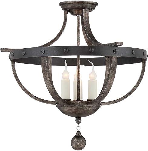 high quality Savoy House 6-9540-3-196, Alsace 3-Light Semi-Flush, online wholesale Reclaimed Wood online sale