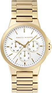 Women's Quartz Watch with Stainless Steel Strap, Gold, 20 (Model: 2200357)