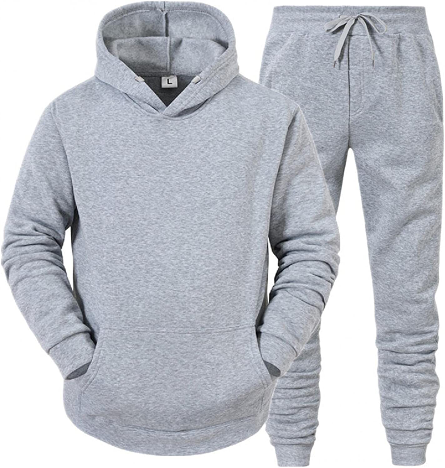 Aayomet Tracksuit Zip up Winter Warm Solid Hoodie Sweatshirt Pants Two Piece Sweatsuits Sports Outfits Suits for Men