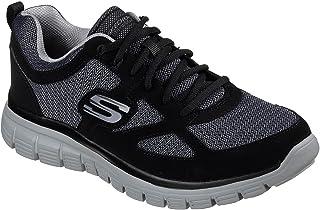 Skechers Zapatillas para Hombre 52635-BKGY_45,5, Color Negro, Talla 45,5 EU