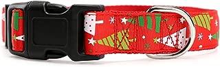 Fairy Pet Christmas Snowflake Adjustable Dog Collar
