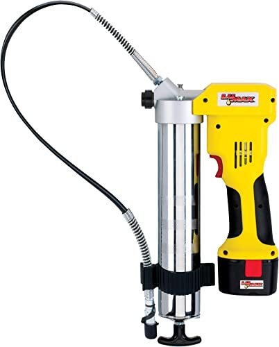 high quality Lumax LX-1176 Handyluber 12V Cordless Grease Gun lowest with 2 Batteries, new arrival 7000 Psi outlet online sale