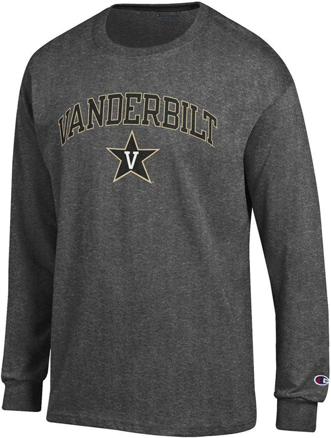Vanderbilt Commodores Long Sleeve Tshirt Charcoal
