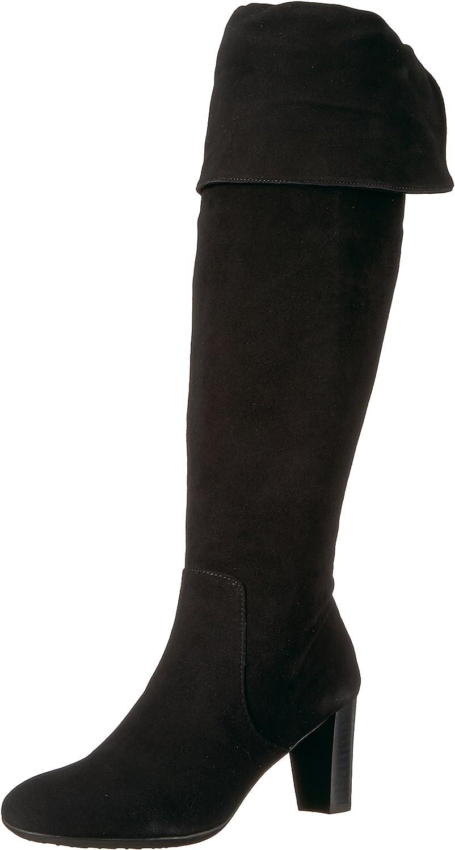 AeGoldsoles Frauen Stiefel Stiefel Stiefel Schwarz Groesse 9.5 US  41 EU  0f13f0
