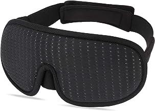 Antifaz para Dormir 3D Antifaz Dormir de Máscara Suave y Transpirable|Algodón de Memoria Avanzada|Ajustable|100% Resistente a la Luz y Cómoda|Adecuada Antifaz Dormir para Hombres y Mujeres