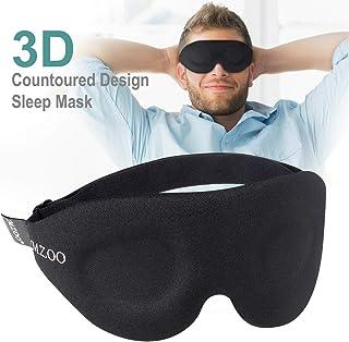 Sleep Eye Mask, NEWVANGA Upgraded Contoured 3D Eye Mask Sleep Mask for Men Women, Block Out Light, Comfortable and Lightweight Night Eye Sleeping Mask for ravel, Shift Work, Naps, Night Blindfold