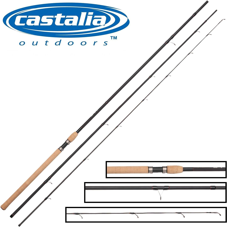 Castalia Match Pro 420cm 5-25g - Matchrute zum Forellenangeln, Angelrute zum Friedfischangeln, Forellenrute, Posenrute