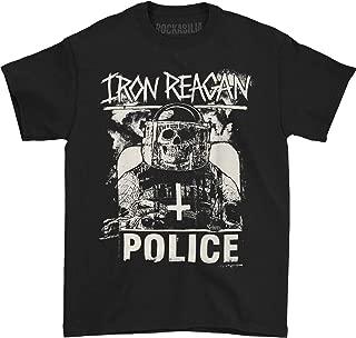 Iron Reagan Men's Riot Cop T-Shirt Black