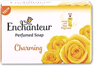Enchanteur Charming Perfumed Soap, 75g with Roses, Muguets & Cedarwood Extracts