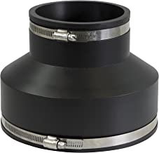 EVERCONNECT 4868 Flexible Rubber Coupling with Stainless Steel Clamps,  4 3/8