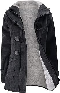 Verdusa Women's Slim Skinny Winter Warm Coat Hooded Jacket Outerwear