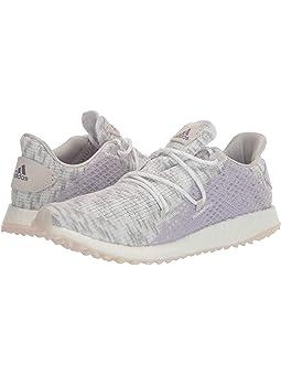 아디다스 여성 골프화 adidas Golf Crossknit DPR,Footwear White/Glory Purple/Purple Tint