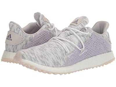 adidas Golf Crossknit DPR (Footwear White/Glory Purple/Purple Tint) Women